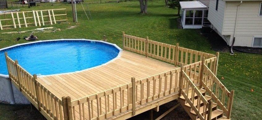 7 consejos para elegir una piscina desmontable decoraci n for Estructura para piscina