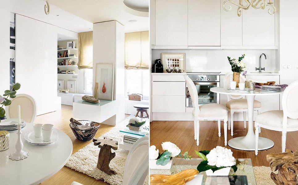 Remodelaci n de un apartamento de 53 m decoraci n del hogar for Muebles de cocina zona pilar