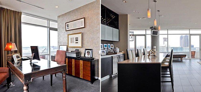 El apartamento de khloe kardashian en dallas decoraci n for Decoracion casa kim kardashian