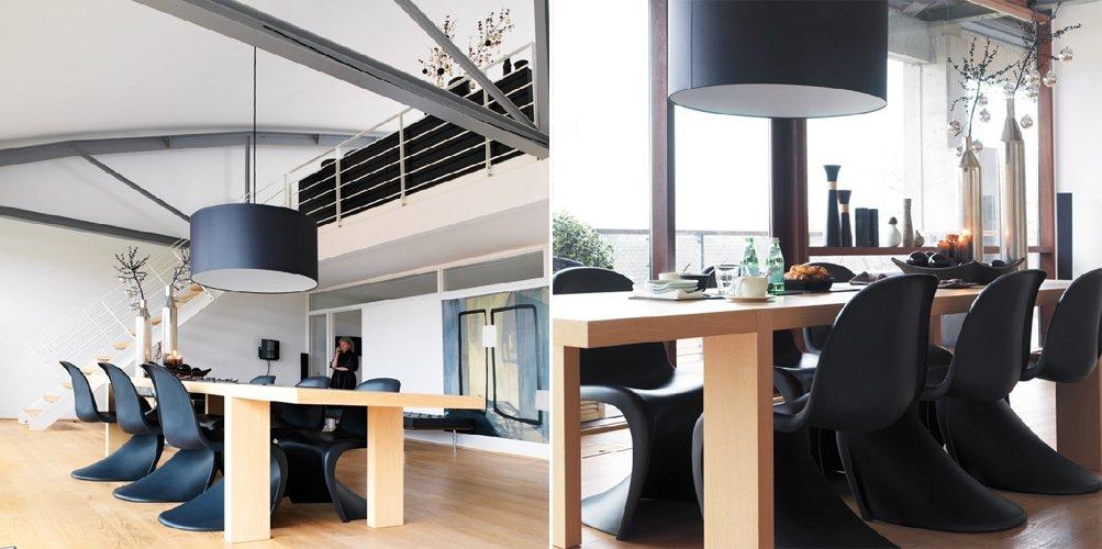 Apartamento loft minimalista en blanco y negro decoraci n - Apartamento tipo loft ...