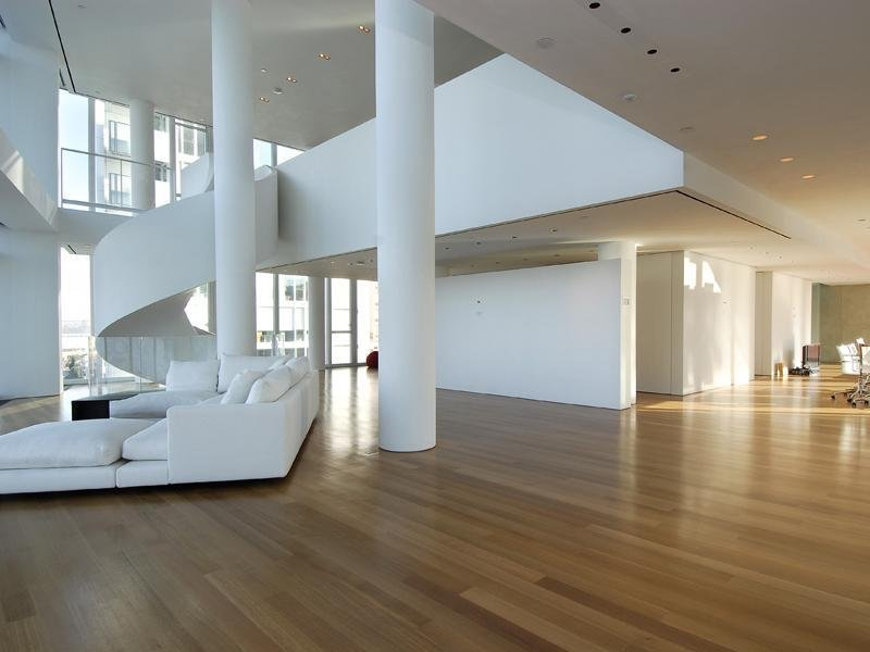 Apartamento de tres pisos de hugh jackman en nueva york decoraci n del hogar - Pisos en new york ...