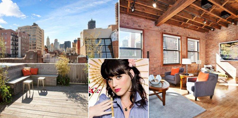 Katy perry pone a la venta su tico loft de nueva york decoraci n del hogar - Casas de lujo en nueva york ...