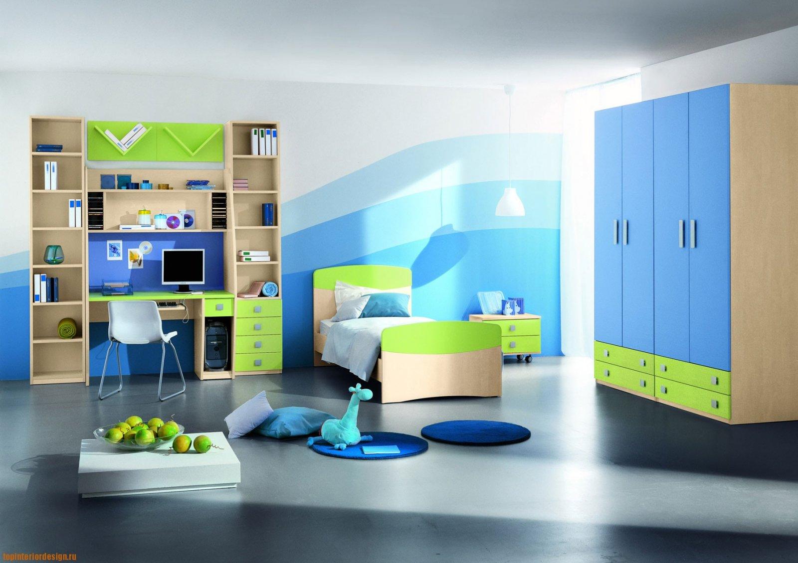 El azul en la decoración de interiores (II)