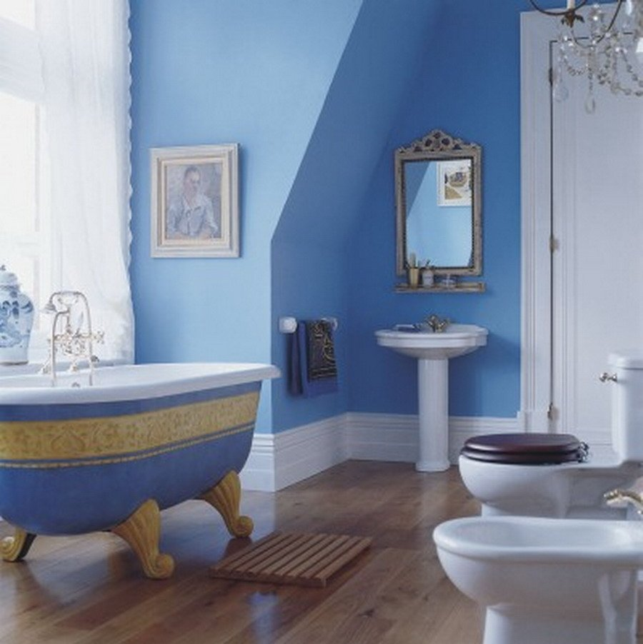 blue bathroom paint ideas el azul en la decoraci 243 n de interiores ii decoraci 243 n 16446