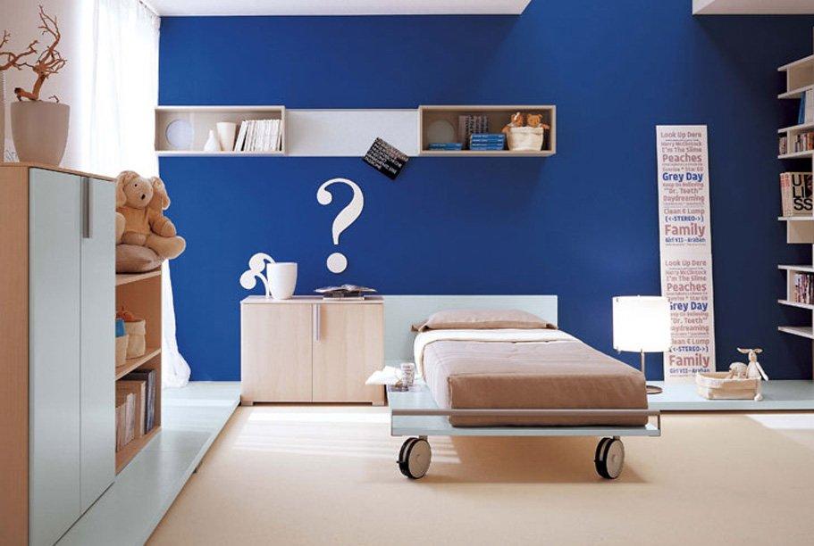 El Azul En La Decoracin De Interiores Del Hogar