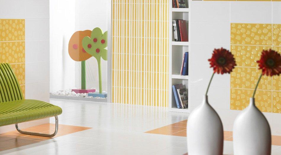 Los azulejos de dise o de agatha ruiz de la prada - Azulejos decorativos para salones ...