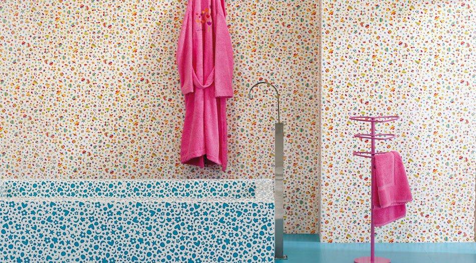 Diseno Cuartos De Baño Azulejos:Azulejos de diseño de Agatha Ruiz de la Prada Los azulejos de