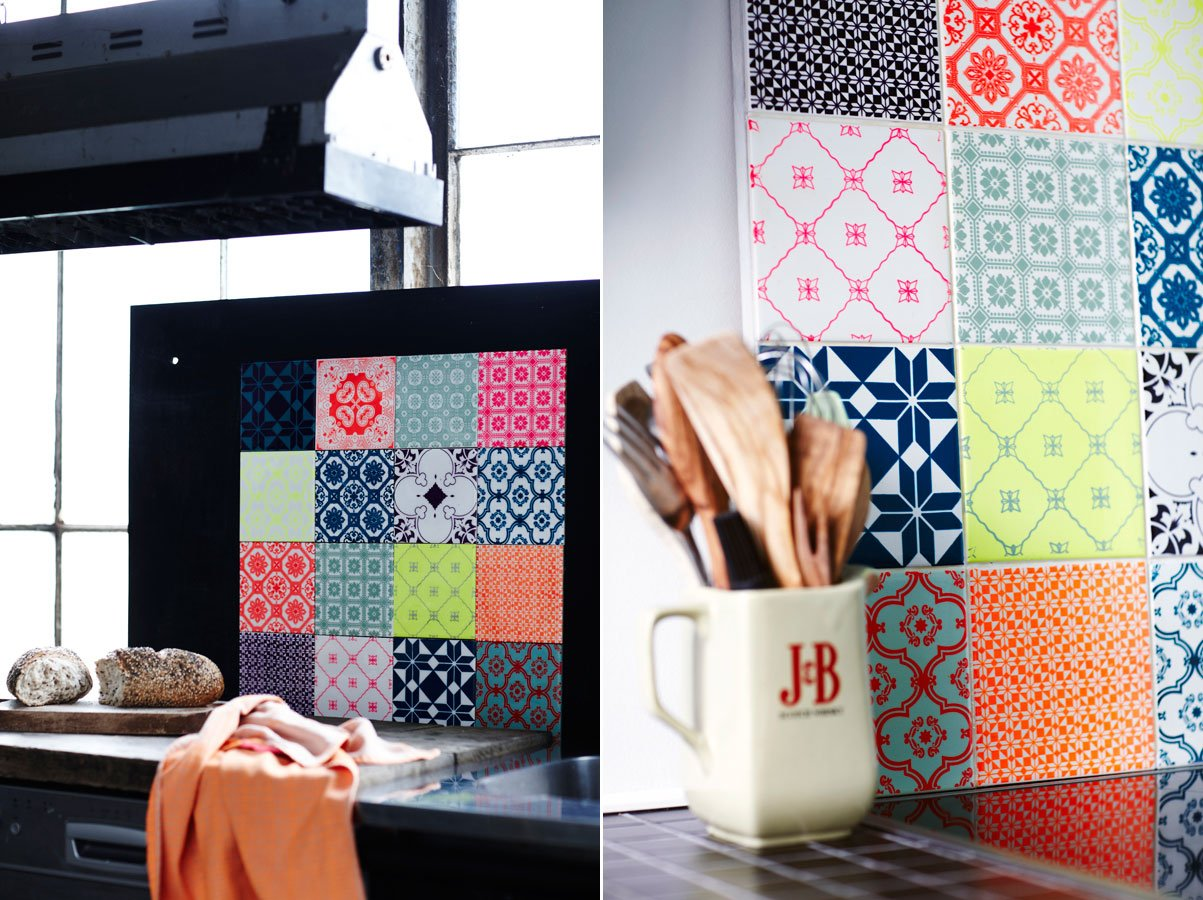 Art Tiles azulejos rockeros realizados a mano Decoracin del hogar