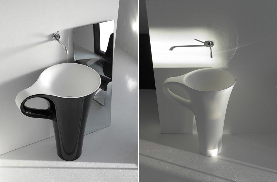 Lavabo cup para un ba o moderno decoraci n del hogar for Tazas para bano modernas