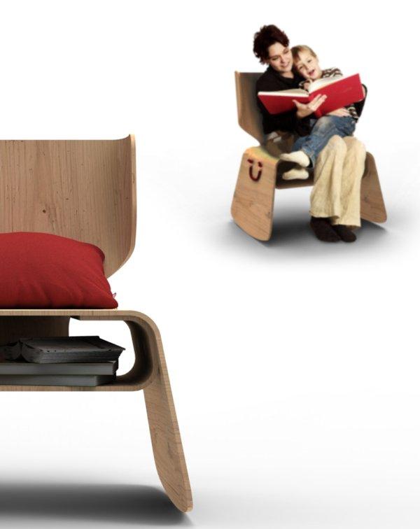 Bita chair la silla perfecta para un rinc n de lectura for Sillas para lectura