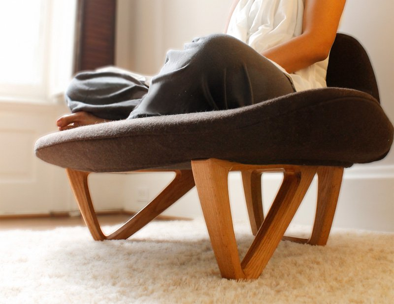 Butaca om para los amantes del yoga decoraci n del hogar for Sillas plegables para yoga