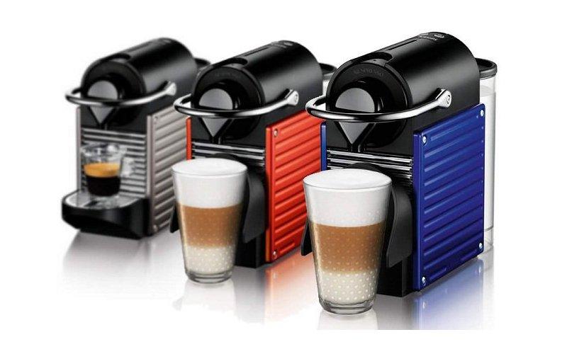Cafetera pixie de nespresso decoraci n del hogar for Nespresso firma
