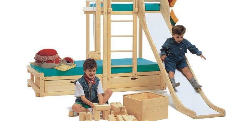 Camas divertidas para habitaciones infantiles decoraci n - Camas infantiles divertidas ...