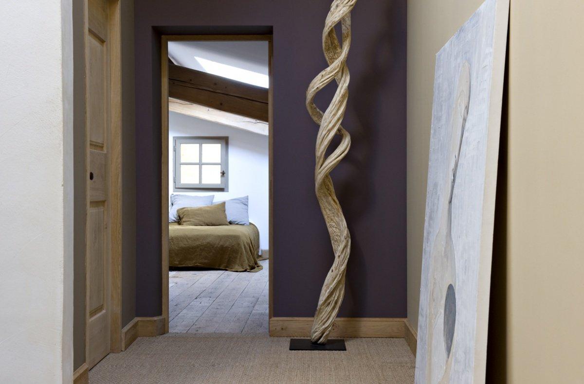 magn fica casa de campo de paredes de piedra decoraci n del hogar. Black Bedroom Furniture Sets. Home Design Ideas