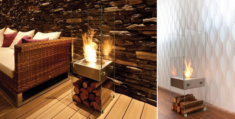 Chimeneas de dise o ecosmart fire decoraci n del hogar - Chimeneas de bioetanol de diseno ...