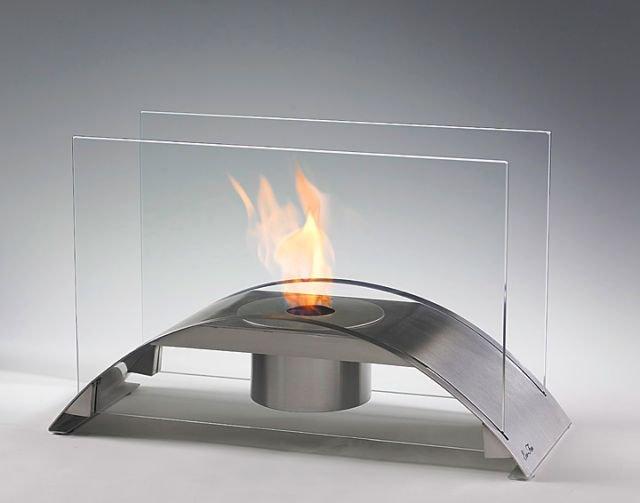 chimeneas de bioetanol de mesa decoraci n del hogar