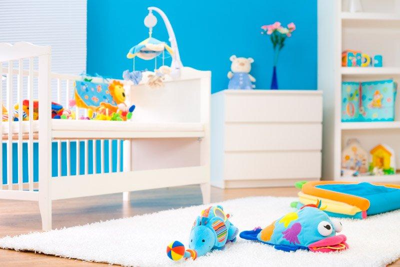 Claves para decorar habitaciones de bebés. Decoración del hogar.