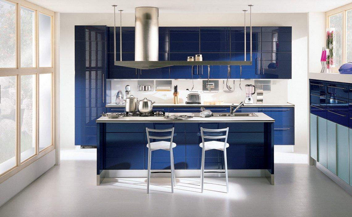 Cocinas modernas coloridas scavolini cocinas modernas Modelos de decoracion de cocinas