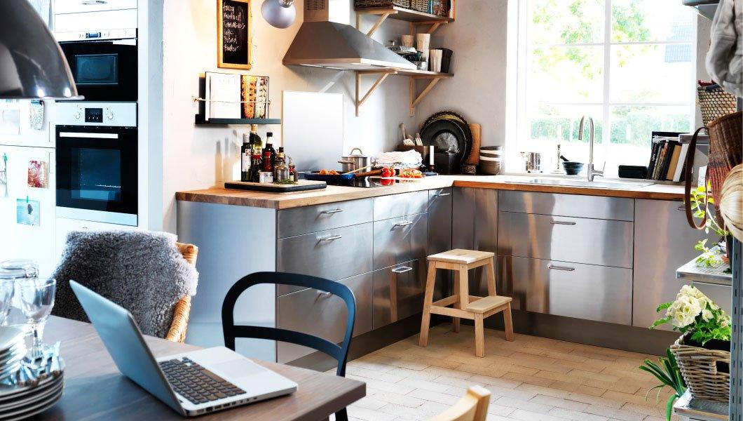 Cocinas integrales ikea. decoración del hogar.