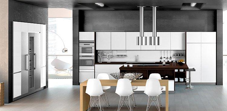 Cocinas acogedoras de forlady. decoración del hogar.