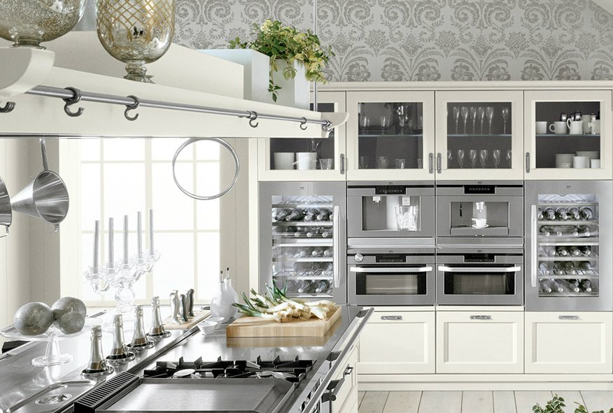 Cocinas minacciolo decoraci n del hogar for Como decorar una cocina blanca