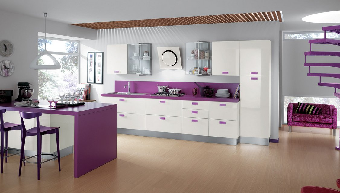 Cocinas modernas llenas de colorido scavolini ii for Decoracion de interiores ideas originales