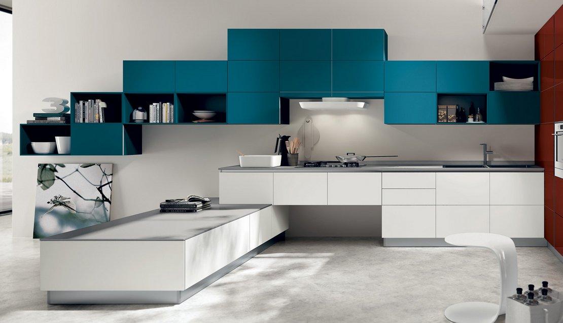 Cocinas modernas llenas de colorido scavolini ii for Decoracion de cocinas modernas fotos