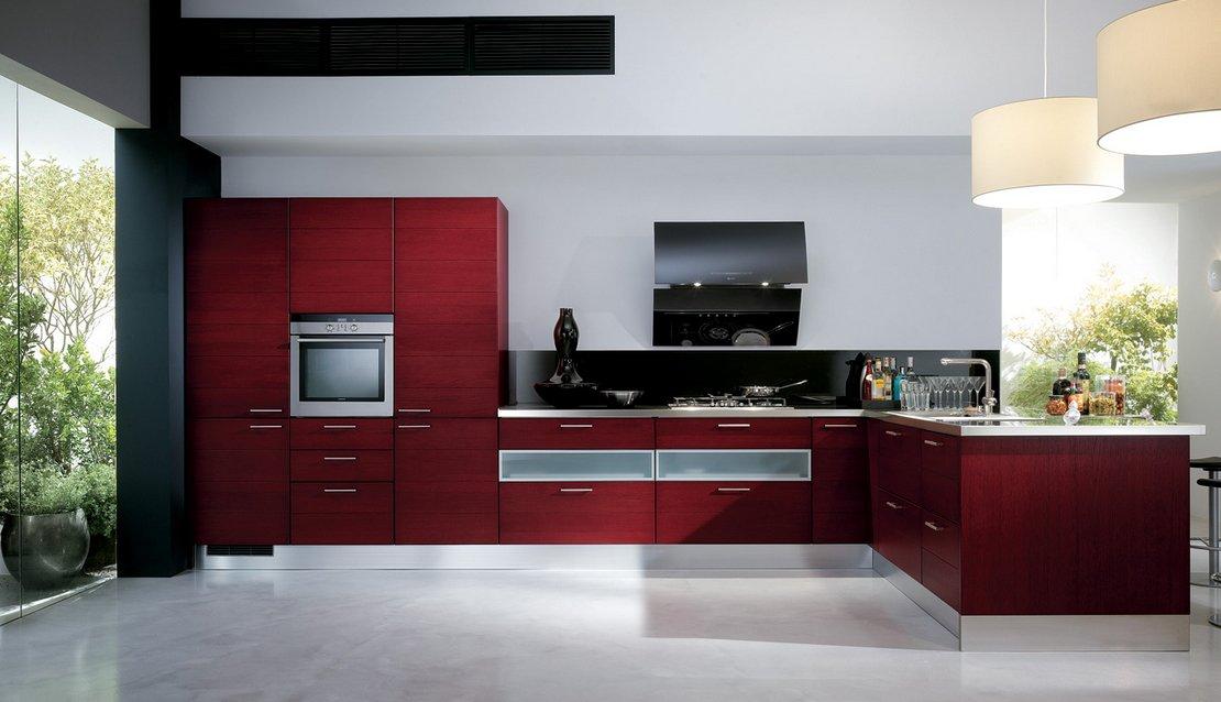 Cocinas modernas llenas de colorido scavolini ii Diseno de cocinas grandes y modernas