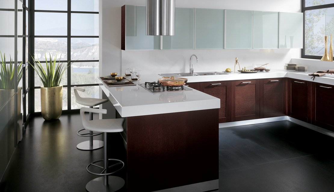 Im genes de cocinas modernas y coloridas scavolini for Guardas para cocina modernas