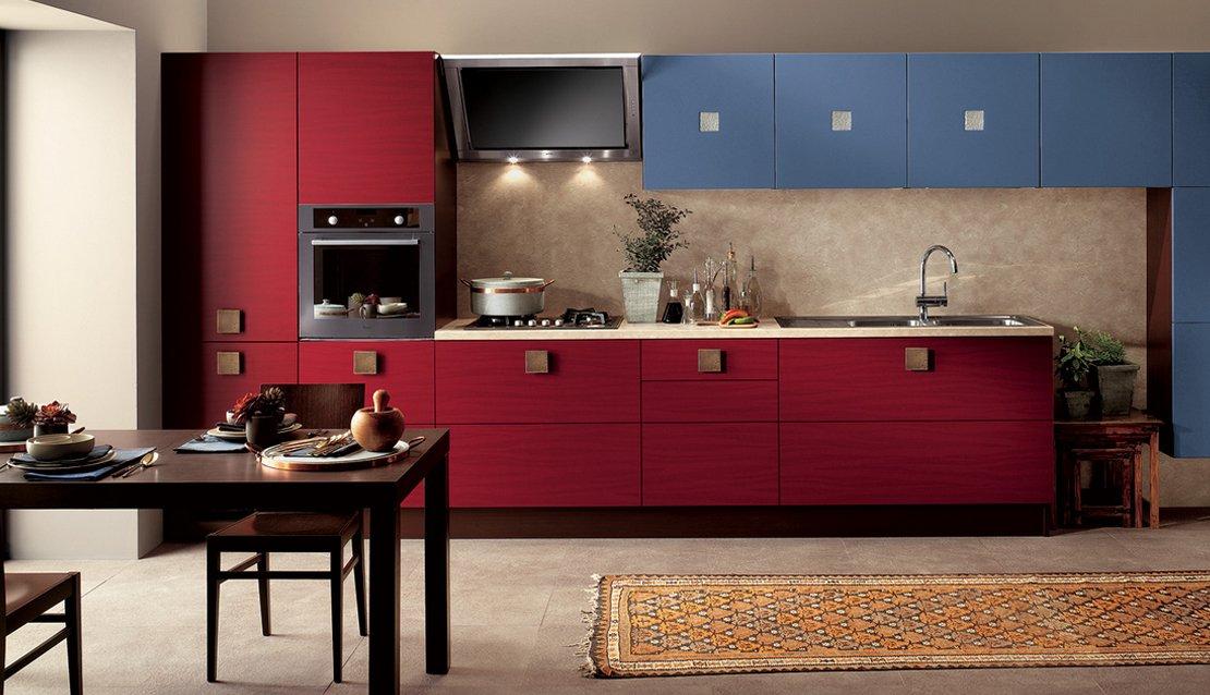 Cocinas modernas llenas de colorido scavolini decoraci n for Decoracion de cocinas modernas fotos