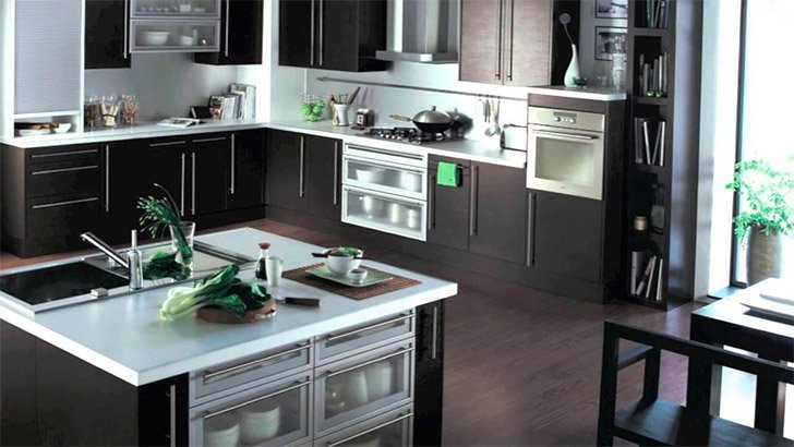 Cocinas modernas de la firma Hygena (II). Decoración del hogar.