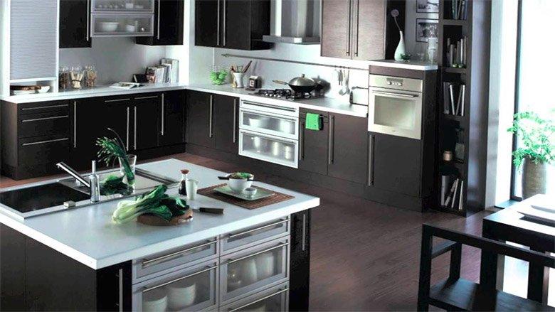Cocinas modernas de la firma hygena decoraci n del hogar for Decoracion de cocinas economicas
