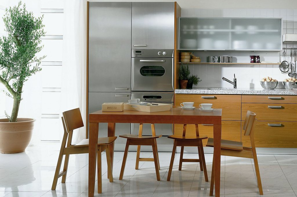 Consejos para las cocinas americanas. Decoración del hogar.