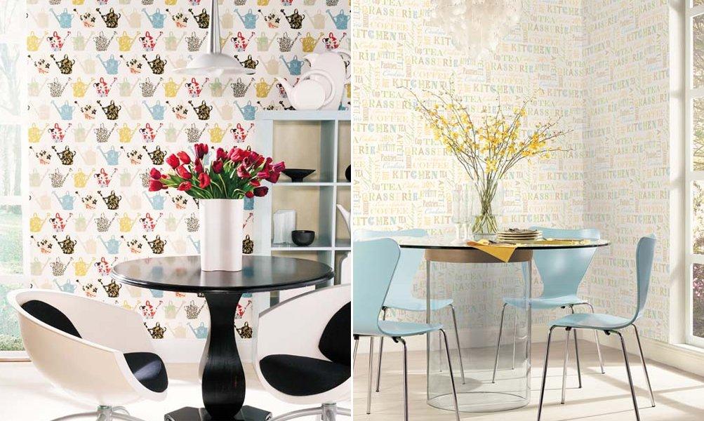 Papeles pintados saint honor decoraci n del hogar - Papel pintado para cocina ...