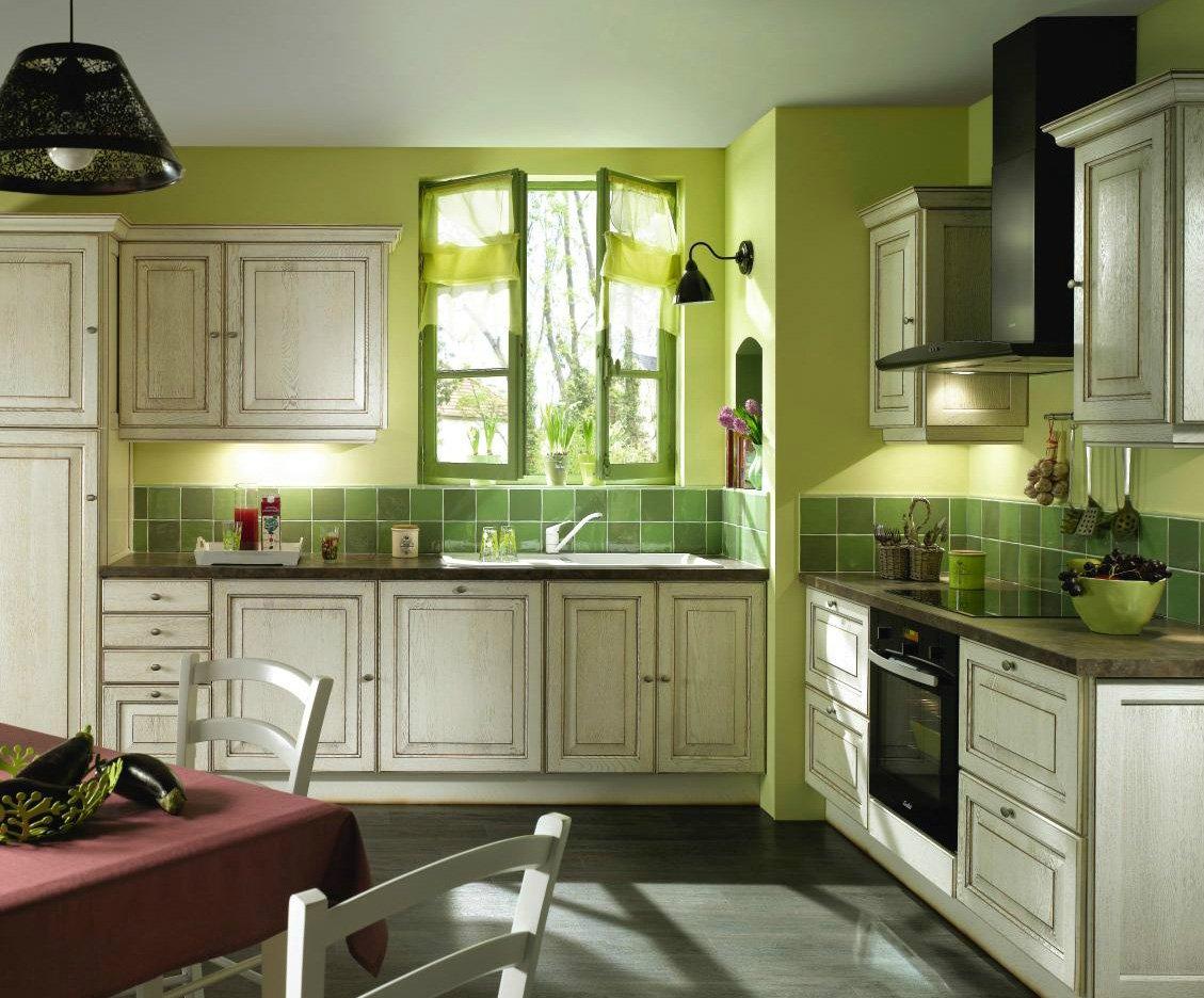 Cocinas r sticas de conforama decoraci n del hogar - Cocinas con colores vivos ...