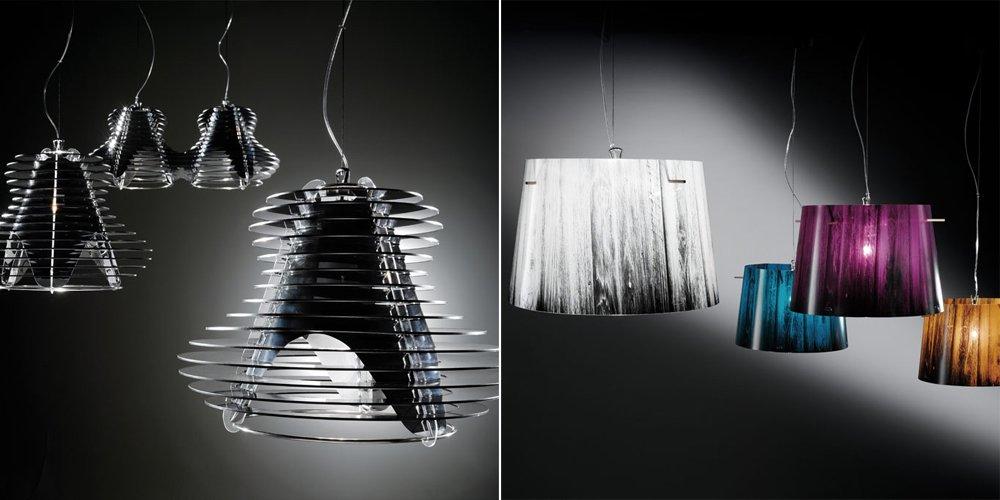 Nueva colecci n 2012 de l mparas slamp decoraci n del hogar - Lamparas de diseno italiano ...