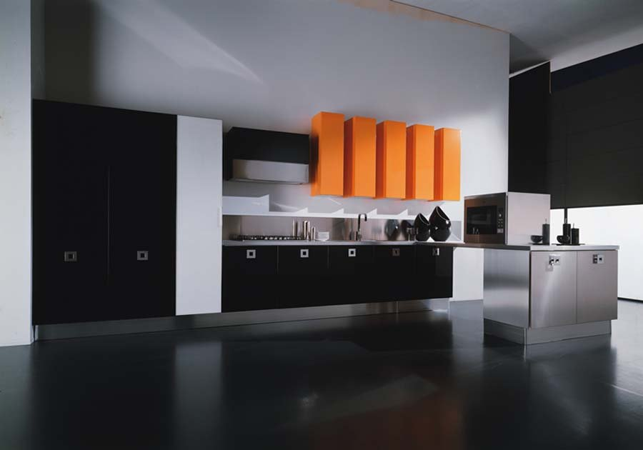 le paint kitchen cabinets with Color Negro Decoracion De Interiores on MRC07LE1 moreover Cuisine Taupe also Modern Small Warm Apartment Contemporary Kitchen Hong Kong together with Ilot Cuisine together with Wall Mounted Tv Ideas.