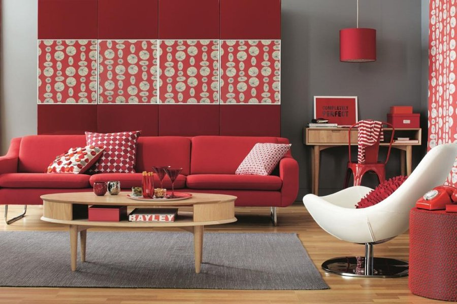 Decoracion De Baño En Color Rojo:El color rojo en la decoración Decoración del hogar