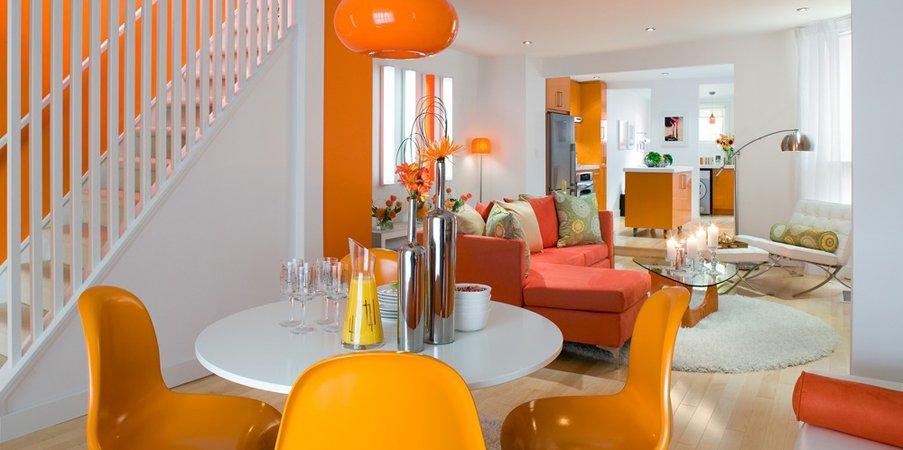 Colores para combinar con el naranja