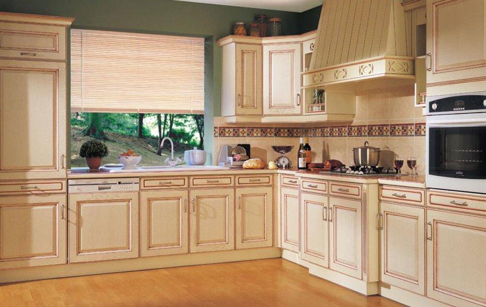 colores para la decoracin de una cocina rstica - Muebles De Cocina Rusticos