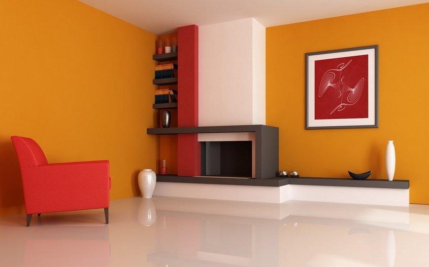 Trucos para utilizar en decoraci n el rojo el naranja y - Como conseguir color naranja ...