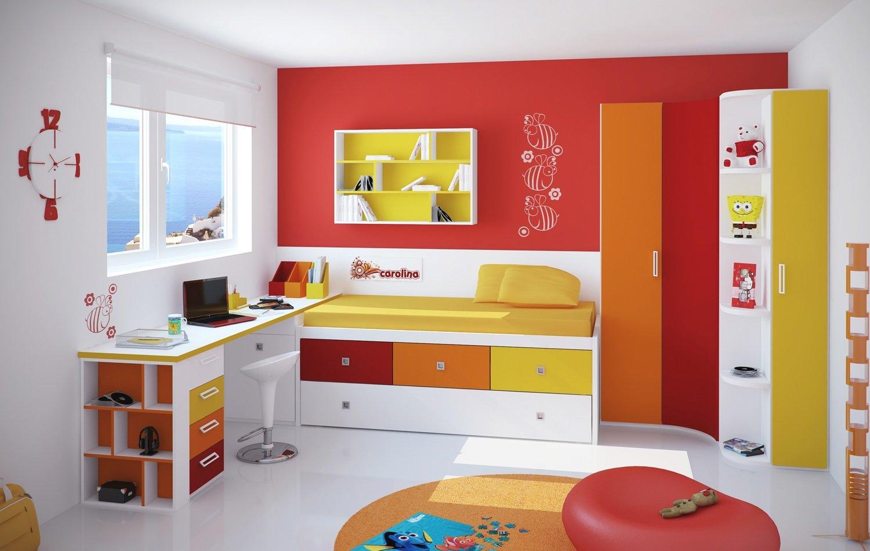 Propuestas Originales Para Decorar Habitaciones Infantiles  ~ Pintura Para Habitaciones Infantiles