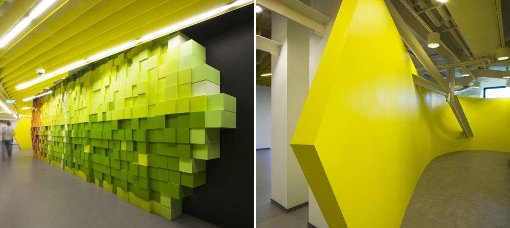 Oficinas llenas de color y p xeles del buscador yandex for Bankia buscador de oficinas