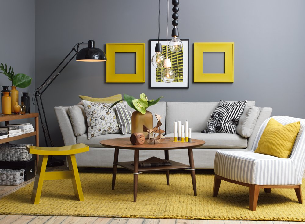 Cmo combinar el gris en la decoracin Decoracin del hogar