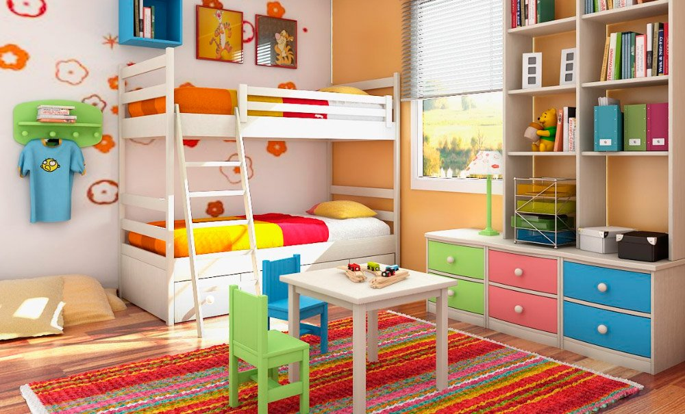 C mo decorar una habitaci n infantil decoraci n del hogar - Ideas para decorar muebles ...