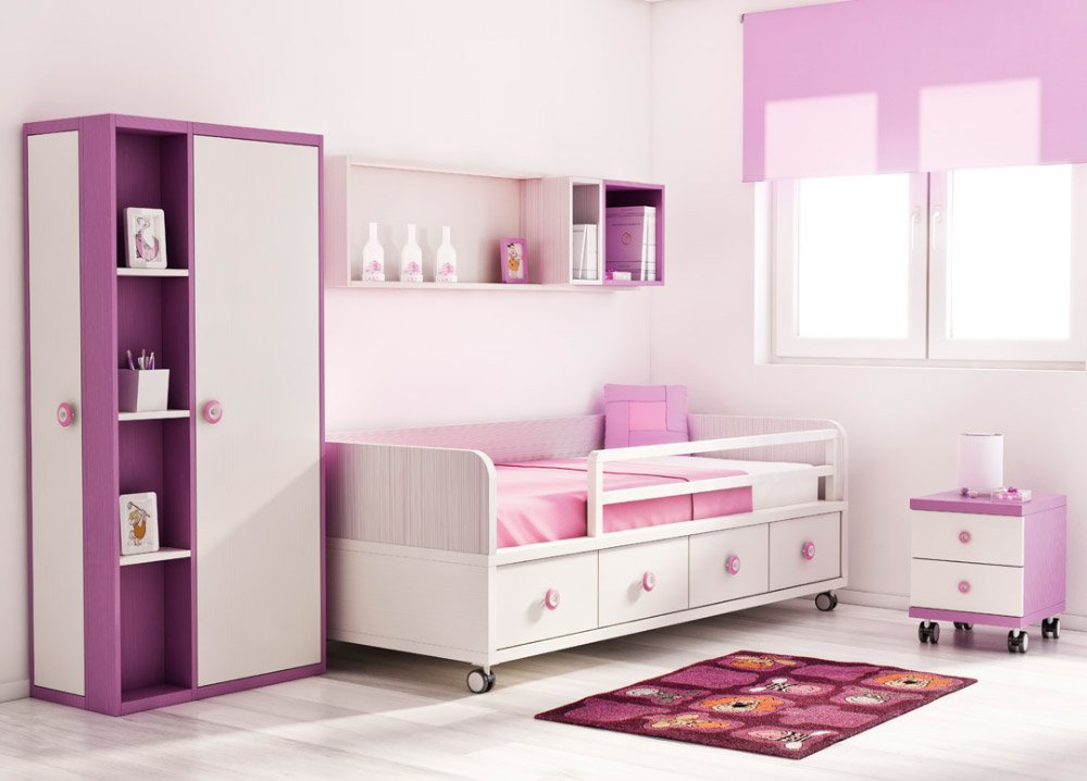 Como decorar una habitaci n juvenil decoraci n del hogar - Como distribuir una habitacion ...