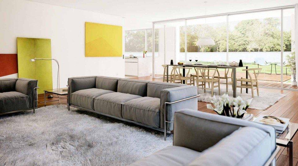 C mo distribuir los muebles del sal n comedor decoraci n for Como colocar los muebles del salon