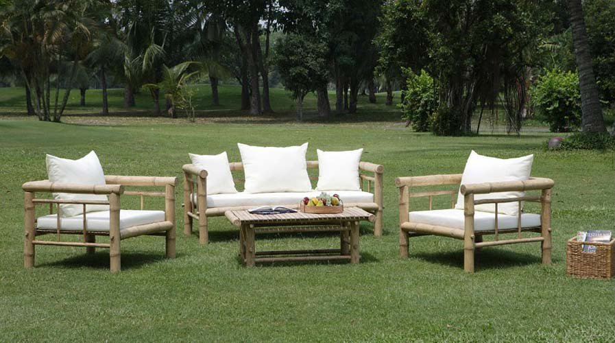 Sof s de exterior decoraci n del hogar for Mobiliario exterior para jardin