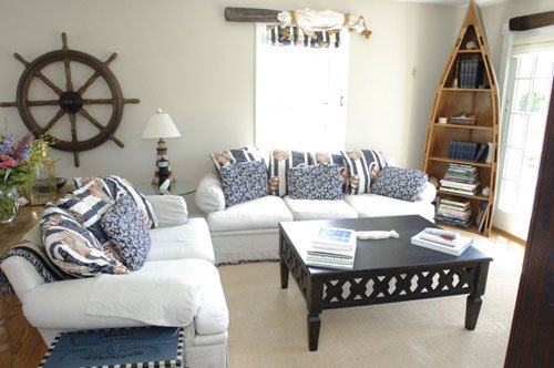 Consejos para una decoraci n marinera en el hogar for Decoracion hogar barata