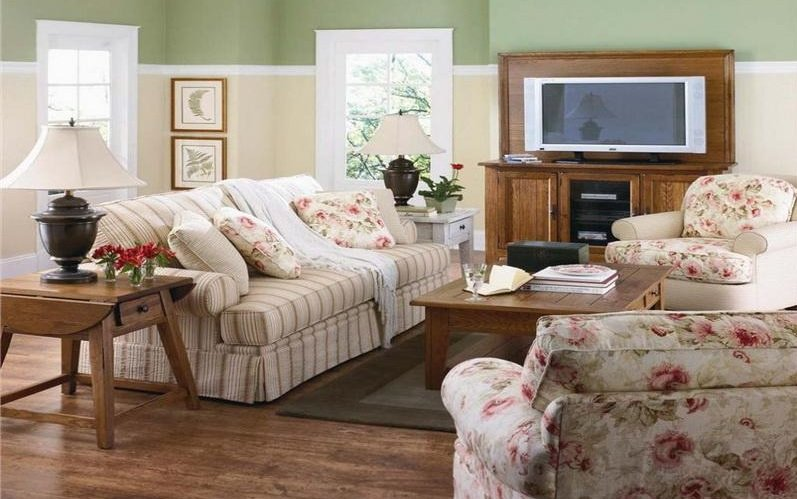 Como decorar un sal n estilo vintage decoraci n del hogar - Complementos decoracion salon ...